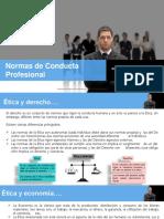 Claser 04 Normas de Conducta Profesional