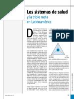 03 Los Sistemas de Salud y La Triple Meta en Latinoamérica