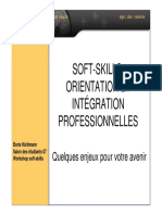 Soft-skills Orientation Et Integration Professionnelle