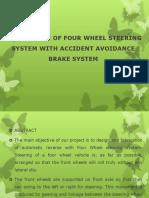 4wheelsteering & Brake