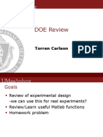 DOE Review