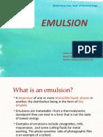 Emulsion MPF