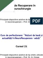 Onose.Curs de Recuperare în Neurochirurgie - Principale dispozitive asistive de tip ortetic utilizate in neurorecuperare.ppt