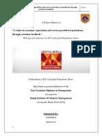 A study on customer expectation and service provided at pantaloons through customer feedback_.pdf
