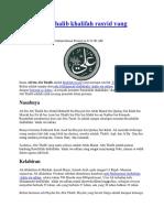 Ali bin Abi Thalib khalifah rasyid.docx