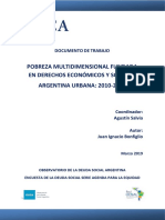 2019 Observatorio Pobreza Multidimensional Documento Trabajo