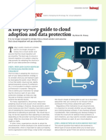 A Step by Step Guide to Cloud Adoption and Data Protection