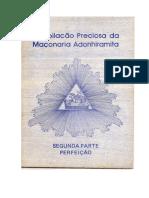 Compilação Preciosa Da Maçonaria Adonhiramita
