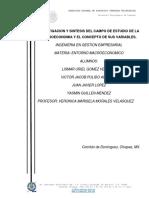 macroeconomia y campos de estudio