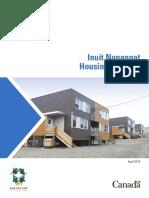 2019 Inuit Nunangat Housing Strategy