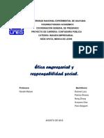 Unidad III. Ética Empresarial y Responsabilidad Social.