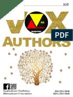 Nr. III al revistei cultural-artistice Vox Authors