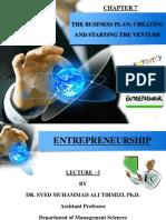 Chapter 7 - Entrepreneurship - Dr. S.M. Ali Tirmizi-1