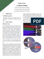 Informe de rayos laser