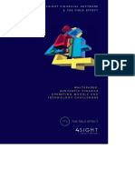 4sight and the Field Effect Whitepaper -Synthetic Finance - Target Operating Models and Technology Challenges