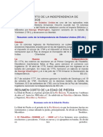 RESUMEN CORTO DE HISTORIA UNIVERSAL.docx