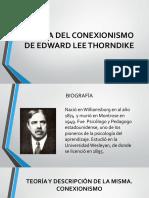 Teoría Del Conexionismo de Edward Lee Thorndike