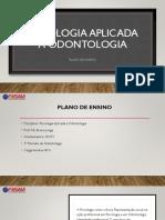 0 Plano de Ensino Psicologia Aplicada à Odontologia