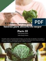 Isabel Rangel Barón - El Hierro, Recomendaciones Básicas Para Absorberlo Mejor, Parte II