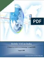 Mobile Vas Report Aug08