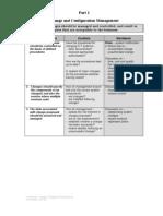 Risks - Change & Configuration Management