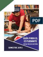 Guia Del Alumno 2019 Gestion
