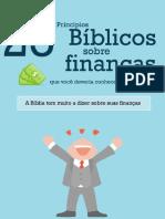 ENSINO BÍBLICOS SOBRE FINANÇAS