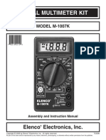 Digital Multimeter DT830B schematic diagram