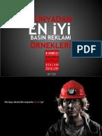 KIRMIZI 133 Dünyadan ve Türkiye'den Basın Reklamı Örnekleri