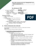 ASPECT TECHNIQUES DES VEHICULES DE TRANSPORT DE MARCHANDISES P.docx
