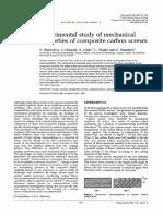Estudio Experimental de Las Propiedades Mecánicas de Los Tornillos de Carbono Compuestos