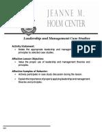 Leadership Management Case Studies V2