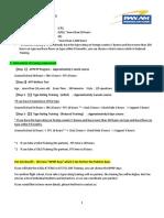 Pan AM FAA license procedures