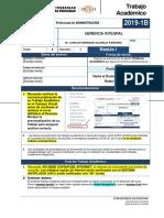 Fta-2019-1b-m1 Gerencia Integral, Plan 501