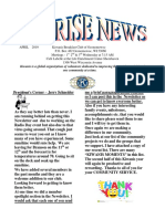 april  2019 kiwanis newsletter