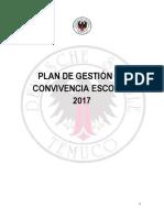 Plan de Gestion en Convivencia Escolar