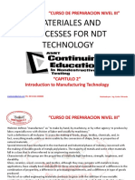 CURSO PREPARACION MATERIALES AND PROCESSES FOR NDT