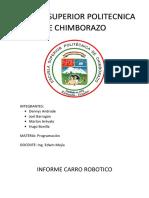 Informe Carro Robótico ESPOCH.docx