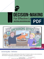 Anchoring  Bias in Decisions