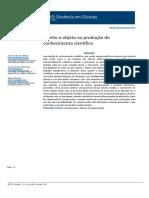 Sujeito e objeto na produção do conhecimento científico.pdf