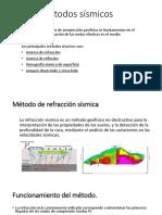 Métodos sísmicos-refracción