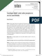 Sociologia Digital