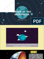Origin of Geosphere