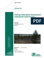 EA0809-003_Tyhee_Yellowknife_Gold_Project_Tailings_Alternatives_Assessment_-_Part_1.PDF