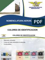 Colores de identificación para aeronaves