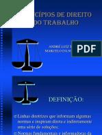 Principios do direito do trabalho