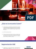 Microsegmentación Pisco Santiago