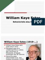 Teori Belajar; William Kaye Estes (Revisi)