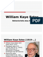 Teori Belajar; William Kaye Estes (Revisi)