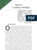 Capítulo 3 da dissertação de mestrado de 1995 - Cirurgia Plástica & Psicologia